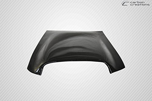 Universal Carbon Fiber Hood Scoop (Universal Carbon Creations Hood / Roof Scoop Type 1 - 1 Piece)