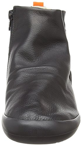 000 Femme Bottines Fil489sof Black Noir Softinos f6YwUqf