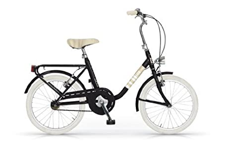 Mbm Mini Bicicletta Bici 20 H40 Tipo Graziella Nero Amazonit