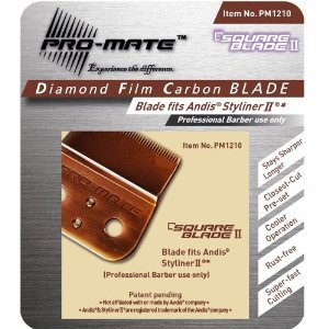 Pro-Mate Square Blade fits Andis Styliner II