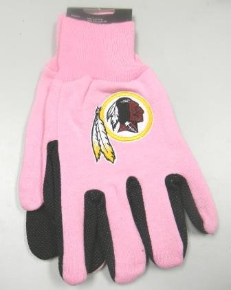 61ca297f7 Image Unavailable. Image not available for. Color: Washington Redskins Pink  ...