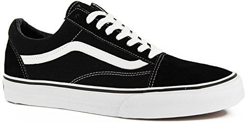 Vans Unisex Old Skool Black/White Skate Shoe (9 B(M) US Women / 7.5 D(M) US Men) by Vans