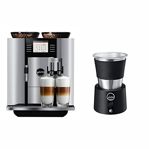 Jura 13623 Giga 5 Automatic Coffee Machine, Aluminum with Automatic Milk Frother