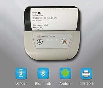 Portable Mini Impresora Bluetooth POS Impresora Térmica de ...