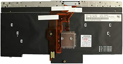 UK Layout Backlit Keyboard for Lenovo Thinkpad E31 L430 L530 Compatible 04W2918 04W3063 04W3137 04X1201 04X1251 04X1267 04X1298 04X1315 04X1327 04X1344 04X1348 04X1353 04X1380 04Y0230 04Y0528 04Y0639