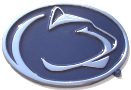 - Penn State University Nittany Lions NCAA College Color and Chrome Plated Premium Metal Car Truck Motorcycle Emblem