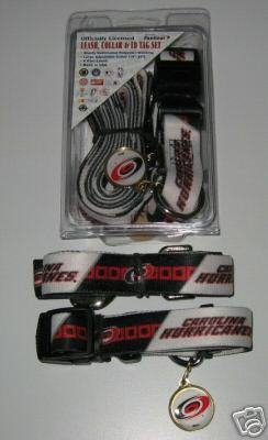 Hunter Carolina Hurricanes Pet Combo (Includes Collar, Lead, ID Tag), X-Small