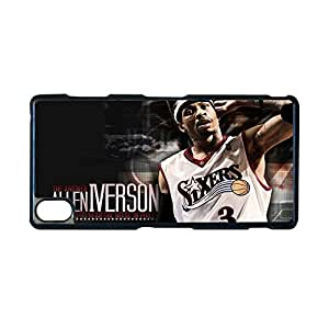 Generic Creativity Phone Case For Girl For Xperia Z3 Sony Custom Design With Allen Iverson Basketball Player Choose Design 2