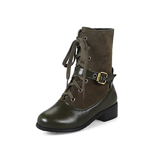 Boots Adjustable Bronze Toe Dress DKU01785 Heels Urethane Closed A Light Kitten Boots Up Resistant Lace Strap Water Closed Womens amp;N Toe Weight EWwvwq01Z