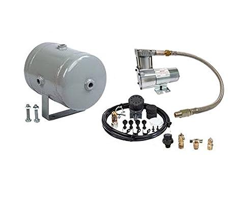 120PSI Compresor De Aire Y Sellado de depósito oiless Kit - Ideal para Rock Crawlers: Amazon.es: Coche y moto