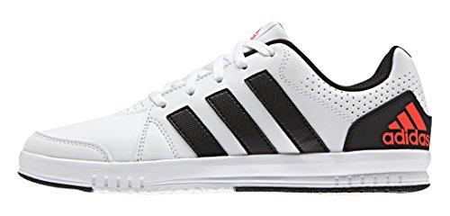 adidas LK Trainer 7 K, Zapatillas de Gimnasia Unisex Bebé, Multicolor Blanco (Ftwbla / Negbas / Rojsol)