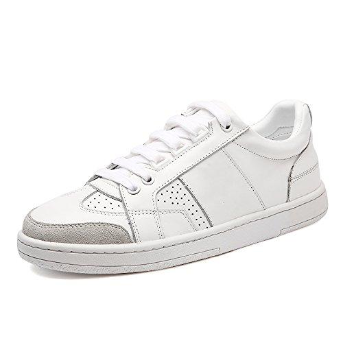 The 35 Color Tallas Blanco Summer Shoes EU36 Antideslizantes Blancos Women's Cómodos Llevar Mujer 2018 UK4 CN36 New Zapatos 44 PU Nan Zapatos para Muy de Blanco YnnxUBf