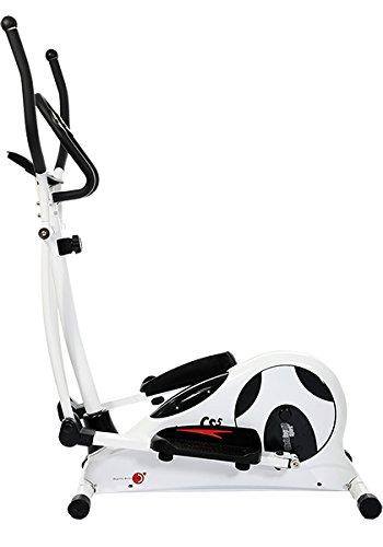Christopeit CS - Elíptica (8 kg), color blanco, talla DE: 140 x 59 x 171 cm: Amazon.es: Deportes y aire libre