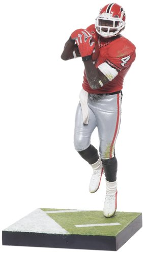 Football Series College Ncaa (NCAA University of Georgia McFarlane 2012 College Football Series 4 Champ Bailey Action Figure)