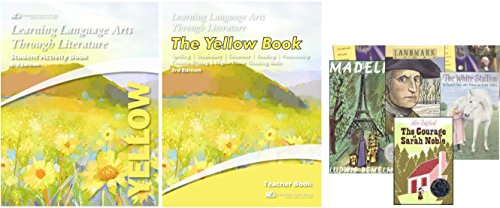 Learning Language Arts Through Literature: Yellow Book Complete Kit, 3rd Edition (Teacher's Book, Student Book, 4 Reading Books)