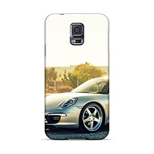 Faddish Phone Porsche 991 Carrera Cases For Galaxy S5 / Perfect Cases Covers