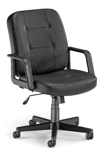 OFM Lo-Back Executive Leather Chair - Low Back Ergonomic Off