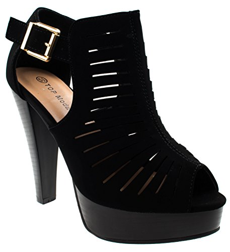 Closed Back Platform Sandal - 5