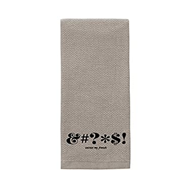 Kate Spade Expletive Kitchen Towel, 17 x 28