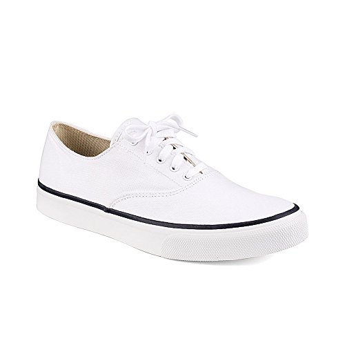 Blanc Sneakers Red Sperry CVO Top Sider Canvas wOxPTWYFRq