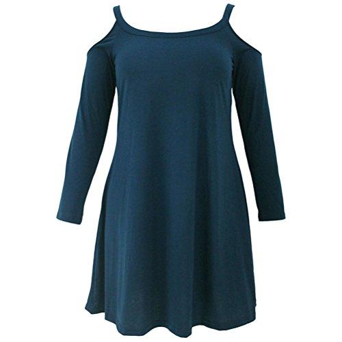 Buy belted cotton jacquard tulip dress - 4