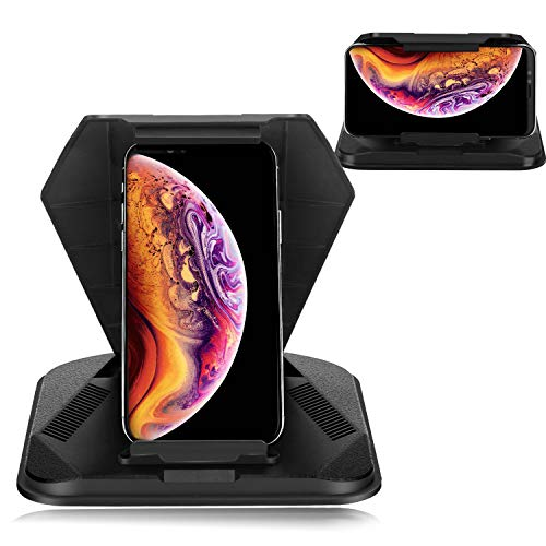 WBLILI Cell Phone Holder for Car, Dashboard Car Phone Mount for All 3.5-9.7 Inch Smartphone & Tablet PC Include 5-7 inch GPS Device - Sunlight Resistance/Anti-Glare/Horizontal & Vertical Compatible (Best 6 Inch Cell Phone)