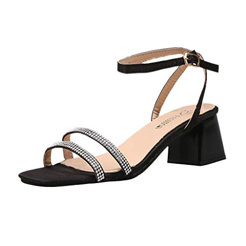 Midress Shoes Women's Teardrop Cut Out T-Strap Mid Heel Dress Pumps Women's Round Toe Pierced Mid Heel Dress Pumps