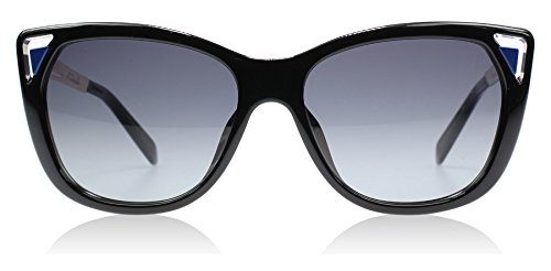 Dior 6LW Black and Blue Chromatic1 Cats Eyes Sunglasses - Dior Sunglasses And Blue Black