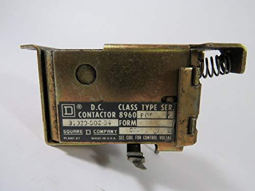 Square D Co. 31029-502-54 D.C. Contactor Class 8960-B05 Series A