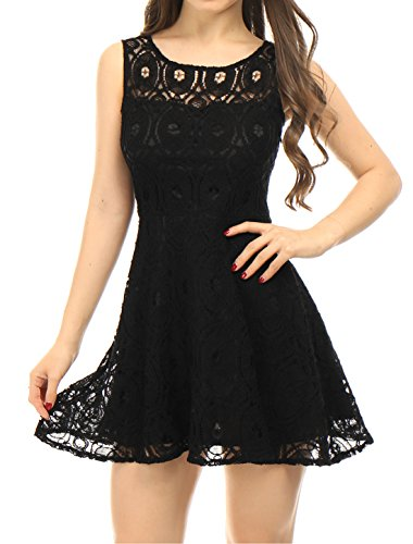 Buy black lace dress by laundry - 2