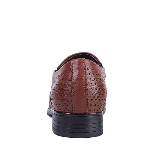 Hueco Oxford Marrón Claro Informal Como 36 Fuweiencore Hombres Huecos Tamaño Zapatos Ue Y Cuero Código Tamaño De Formales color Se Británico 2018 Para Muestra Negocios tFtqIaw