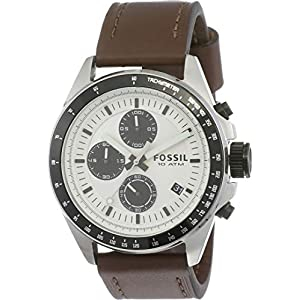 Fossil Chronograph White Dial Men's Watch – CH2882