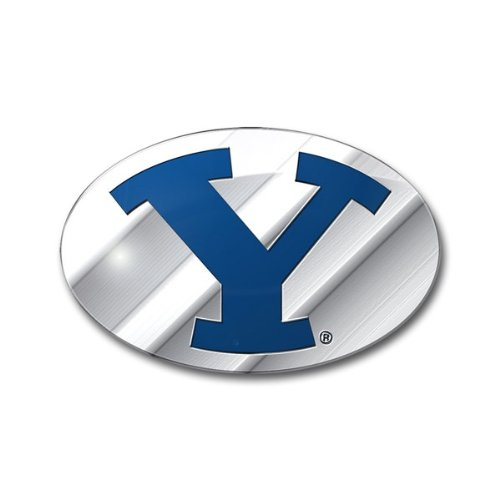 NCAA BYU Cougars Die Cut Color Automobile Emblem (Byu Cougars Car)