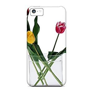 Premium Mother S Day Beautiful Flower Simple Beauty Heavy-duty Protection Case For Iphone 5c
