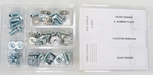 Bolt MC Hardware Full Plastic Fastener Kit HON-0911024