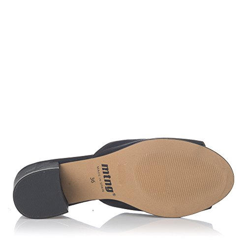 Mtng - Pinki Tac para mujeres, talla 37, color Negro
