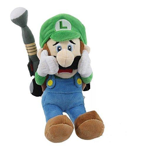 Super Mario Luigi's Mansion 7 Inch Anime Stuffed Plush Kids Toys (Little Naruto Toys)