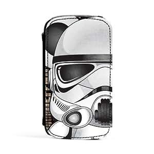 Storm Trooper 1 Carcasa Protectora Premiun PU en Cuero, con Tapa para Samsung® Galaxy S3 de Gangtoyz + Se incluye un protector de pantalla transparente GRATIS