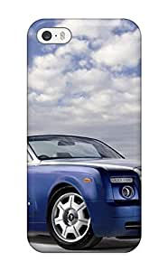 For The Case For Ipod Touch 5 Cover - Eco-friendly Retail Packaging(rolls Royce Wraith Drophead Background)