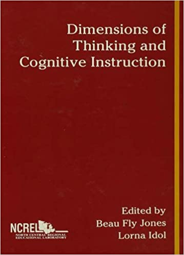 Amazon Com Dimensions Of Thinking And Cognitive Instruction