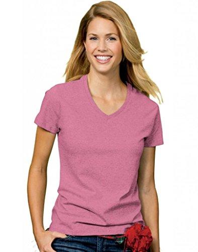 Hanes Ladies ComfortSoft V Neck T Shirt product image