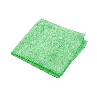 "Microworks 2502-GREEN-DZ Microfiber Towel, 16"" x 16"", Green (Pack of 12): Industrial & Scientific"