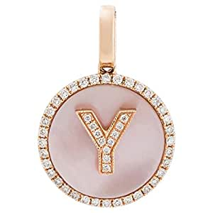 365Love Women's 18K Gold Diamond Pendant