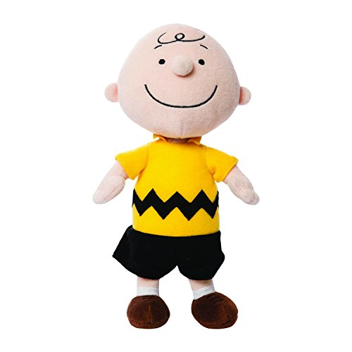 Peanuts 10-inch Charlie Plush (Brown)]()