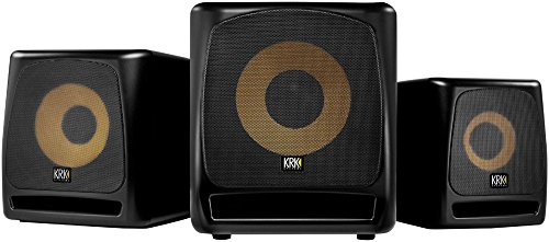 "KRK 10S2 V2 10"" 160 Watt Powered Studio Monitor Subwoofer 4"