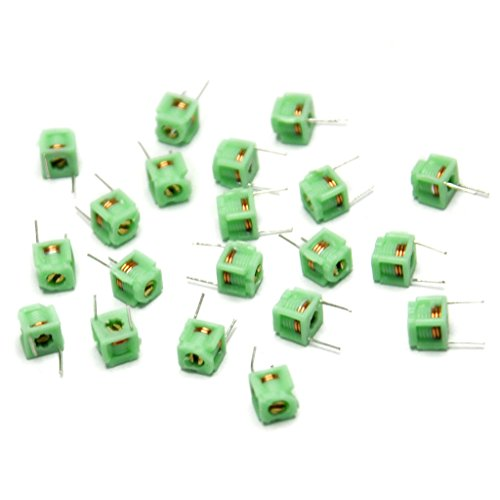 (Gikfun MD0505 3.5T Variable Inductors Coil adjustable Inductor for Arduino (Pack of 20pcs) AE1233 )
