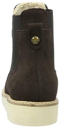 Esprit Kajal Tg Bootie, Botas Chelsea para Mujer Marrón (201 dark brown 2201 Dark Brown 2)