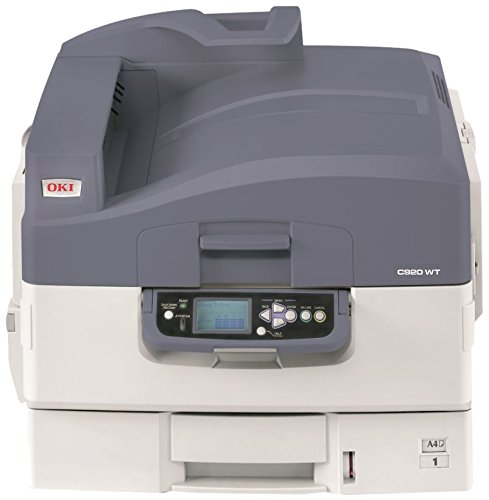 OKI C 920 WT - Impresora láser (Pantalla LCD, A3), Blanco y ...