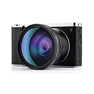 41eNCALkh7L. SS300  - Digital Camera,Vlogging Camera 4.0 Inch Touch Monitor 24MP FHD 1080P Wide Angle Lens YouTube Camera 8X Digital Zoom…