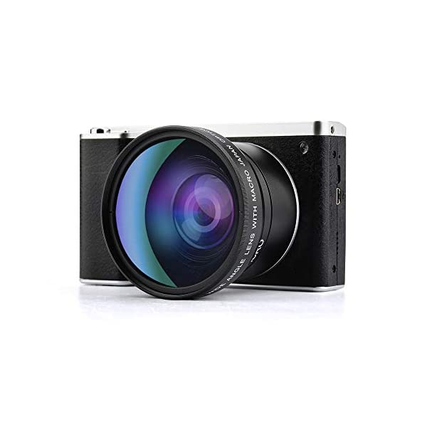 41eNCALkh7L. SS600  - Digital Camera,Vlogging Camera 4.0 Inch Touch Monitor 24MP FHD 1080P Wide Angle Lens YouTube Camera 8X Digital Zoom…